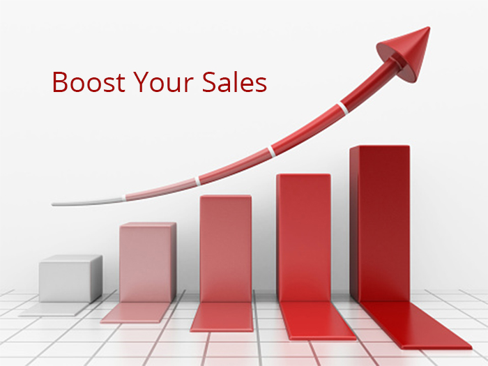 boost the sales