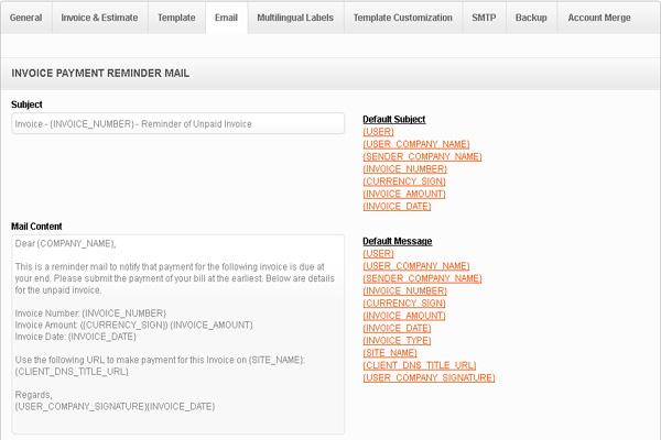 Email_reminder Invoicera