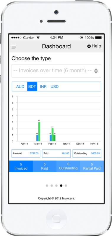 Invoicera Iphone App Iphone3