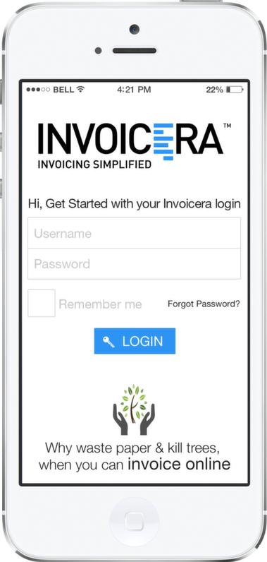 Invoicera Iphone App Iphone4