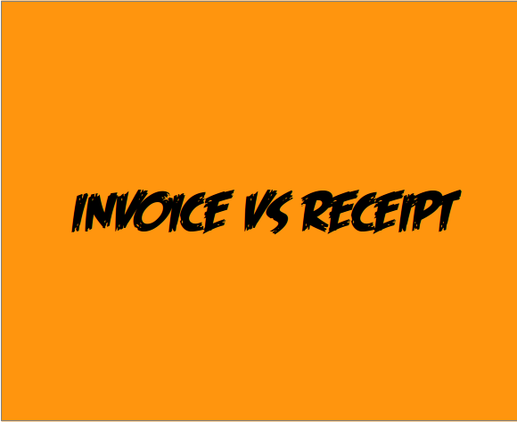 Invoice Vs Receipt