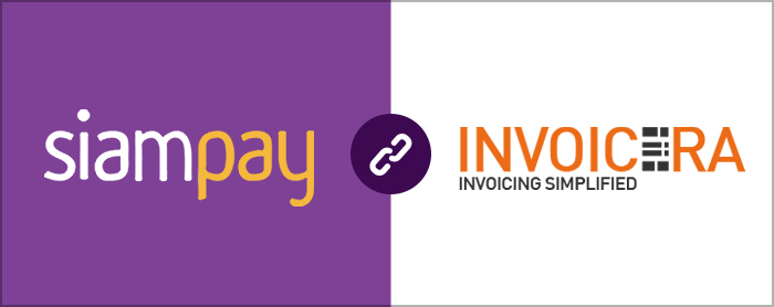 SiamPay integrated with Invoicera