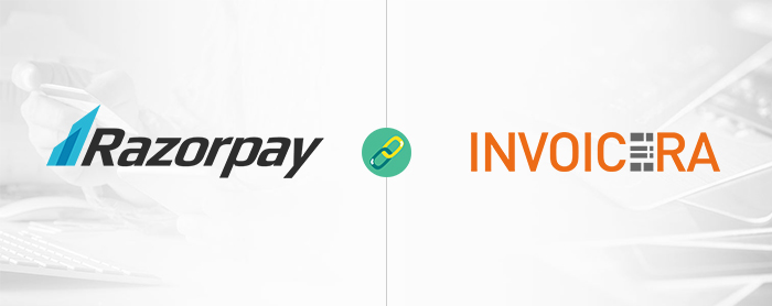 RazorPay integrated with Invoicera