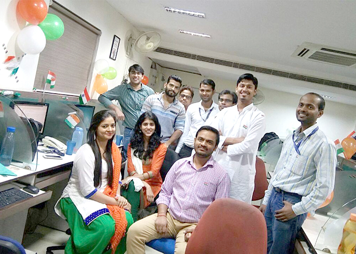 independence day celebrations in office