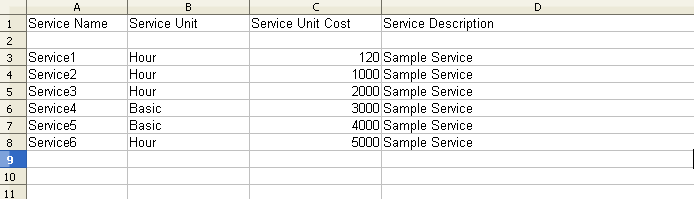 service import