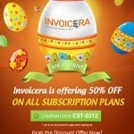 Easter Special: Enjoy 50% Off on all Invoicera Plans!!