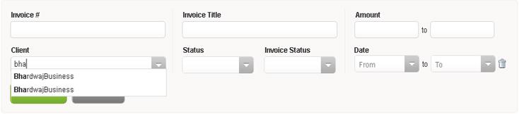 New Interface invoicera