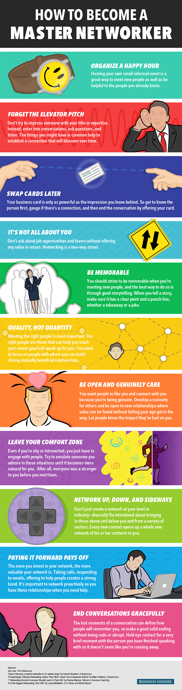 Networking-Tips-Infographic