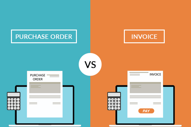 what is purchase order and how it is differ from an invoice