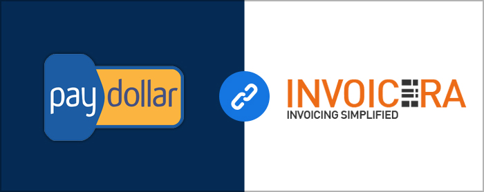 paydollar integrated with Invoicera