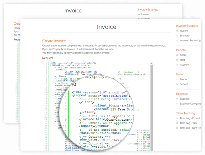online invoice system
