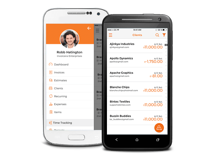 Android Invoicing App New Version Released - Invoice app for android phone