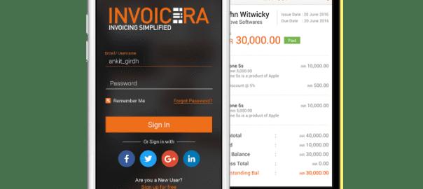 Invoicera Iphone
