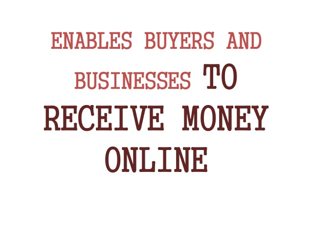 receive payments onlinee