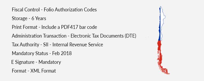 e-invoicing in chile