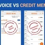 Difference between Invoice And Credit Memo