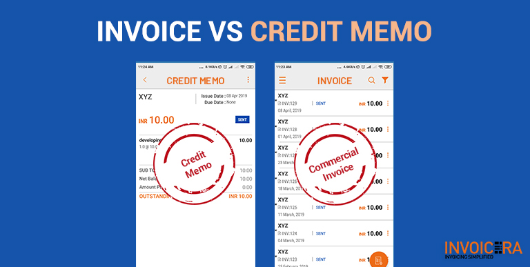 Invoice vs Credit Memo When and how to Issue?