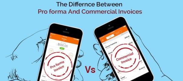 Pro-forma-VS-commercial-invoice