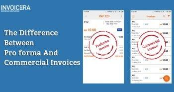 proforma invoice vs commercial invoice
