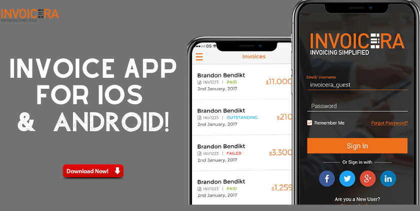 Mobile Invoicing App