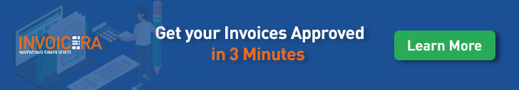 get your invoice approved in 3 minutes