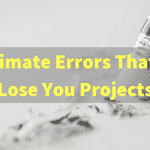 Why Do You Always Fall Prey To Wrong Estimates?