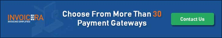 Intergrate 30+ payment gateways with Invoicera Online payment system