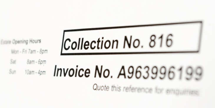 Create service invoices for service rendered