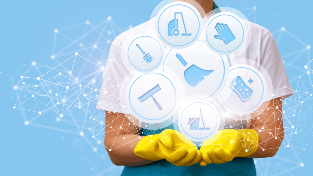 Cleaning services for business idea