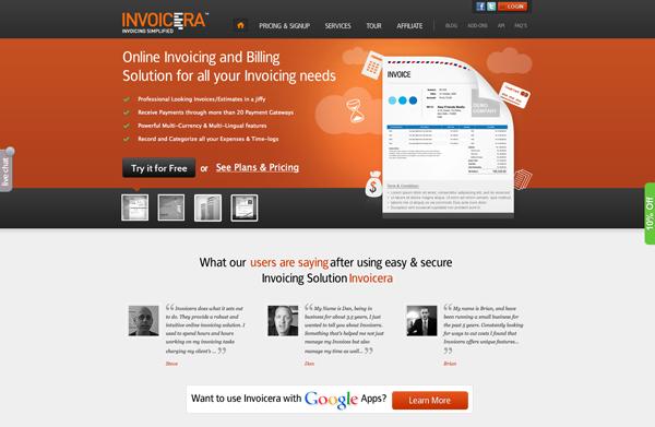 Invoicera-Online Invoicing Software