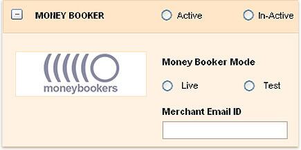 Payment for invoices through MONEYBOOKERS