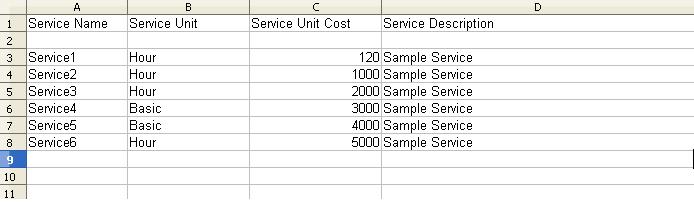 service import
